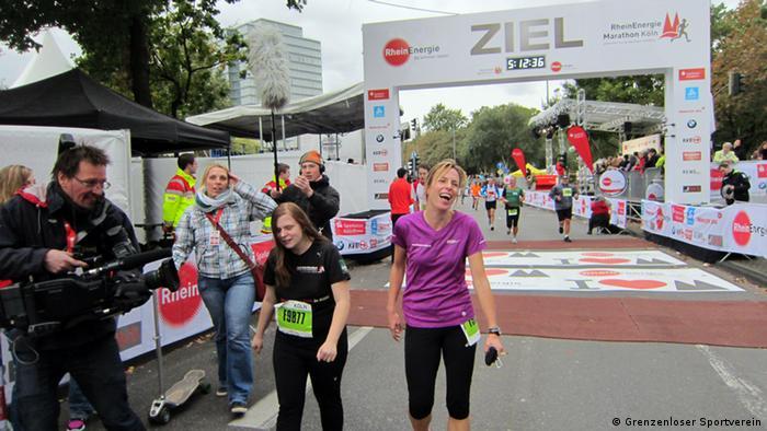 Natjecatelji u cilju