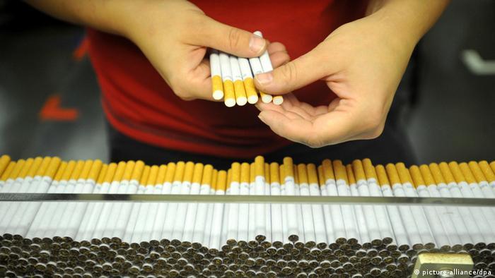 Фабрика виробляла мільйони сигарет на тиждень