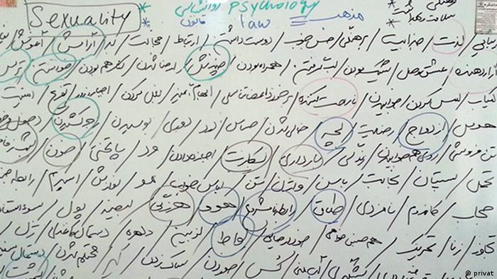 Iran - Diskussion über Sexualität