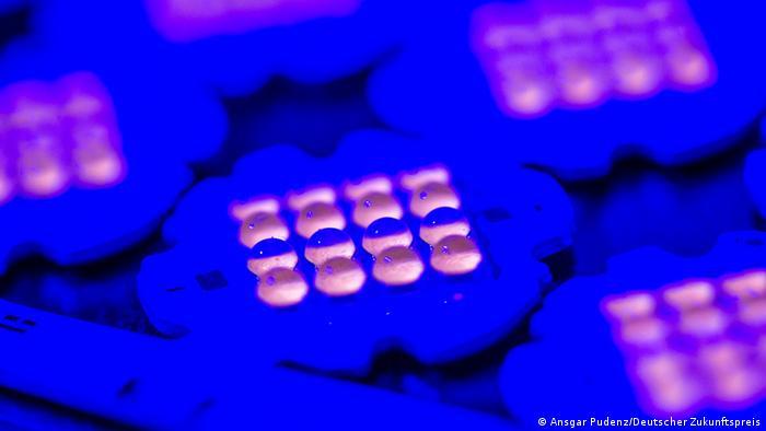 Blue-white LEDs