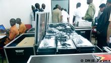 Material für die Wahlen in Guinae-Bissau in 2014