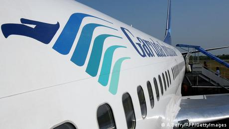 Bildergalerie Airlines Logo Garuda Indonesia (A.Berry/AFP/GettyImages)