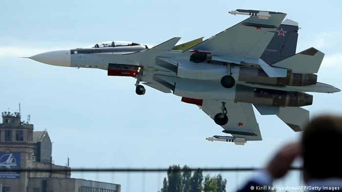Российский истребитель СУ-30 (фото из архива)