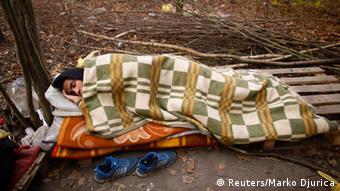 Asylsuchende in Serbien REUTERS/Marko Djurica (SERBIA - Tags: SOCIETY IMMIGRATION)