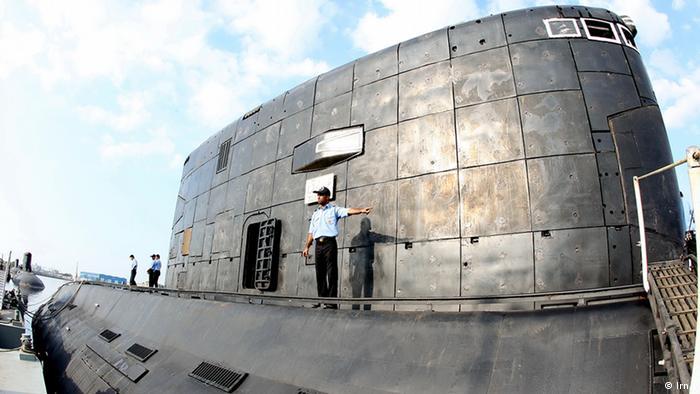 Iran Tag der Marine U-Boot