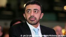 Außenminister Vereinigte Arabische Emirate Al Nahyan