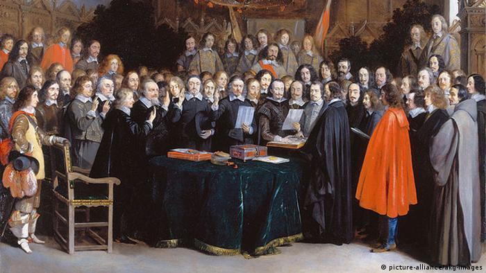 Заключение Вестфальского мира в Мюнстере