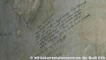 Inschrift des Gefangenen Askold Kurow