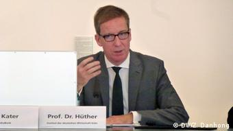 Prof. Michael Hüther (Foto: DW)