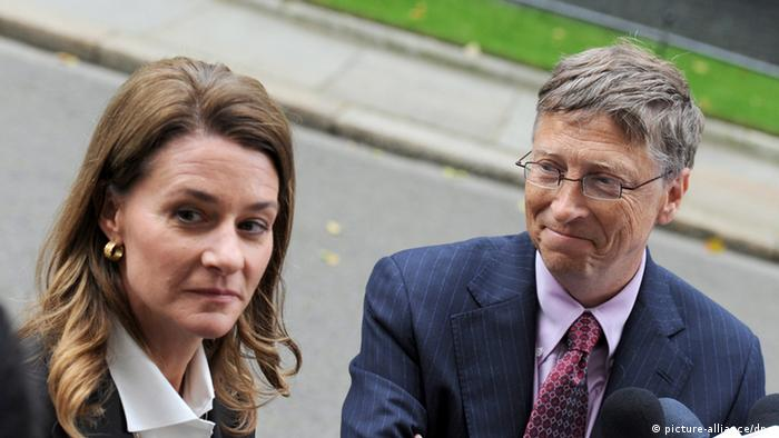 Bill und Melinda Gates Archiv 2010 in London (picture-alliance/dpa)