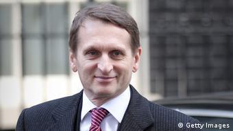 Sergej Naryschkin, russischer Parlamentspräsident (Foto: Getty Images)