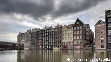 Amsterdam Kanal Häuser