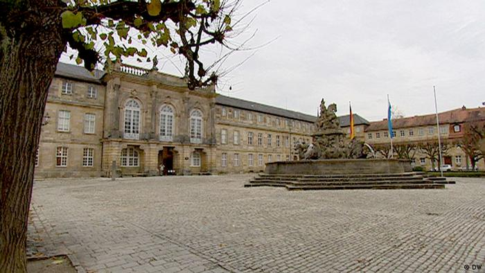 The New Palace in Bayreuth