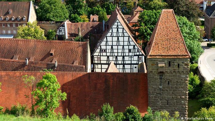 Старые монастырские постройки в Маульбронне