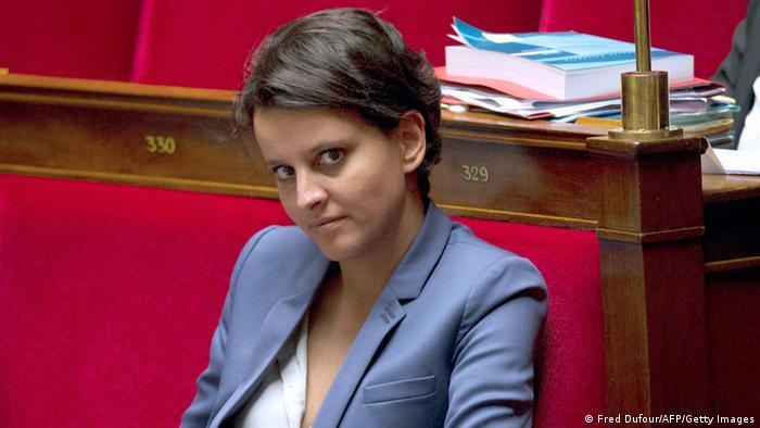 Die französische Bildungsministern Najat Vallaud-Belkacem, 9.10.2013 (Foto: AFP / Getty Images)