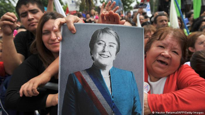 Bachelet, esperanza en la segunda vuelta del 15 de diciembre.
