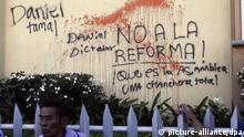 Proteste gegen geplante Verfassungsreform in Nicaragua