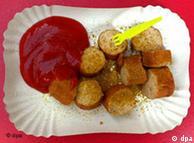 سوسیس با سوس کاری، یکی از محبوبترین غذاهای آلمانی
