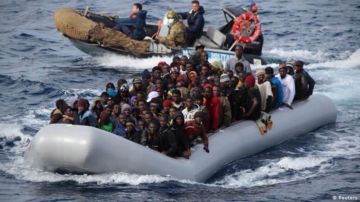 Flüchtlinge Mittelmeer 28.11.2013