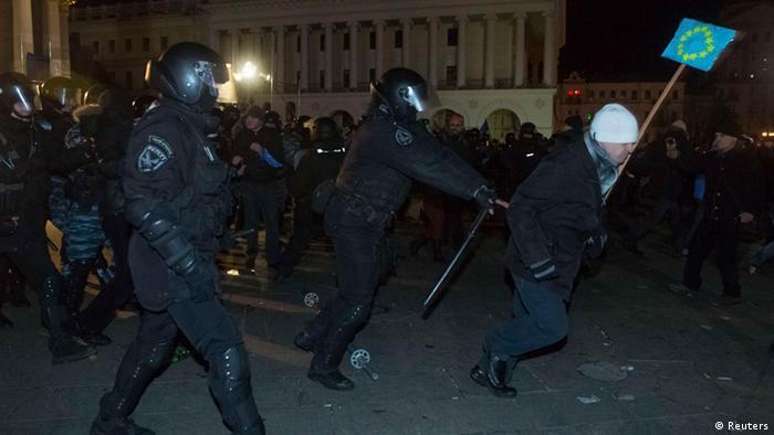 За побиття протестувальників на Євромайдані 30 листопада 2013 року досі немає жодного вироку