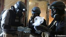 Giftgas Chemiewaffen Vernichtung UN Inspektoren