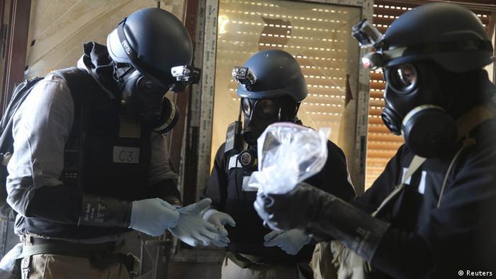 Giftgas Chemiewaffen Vernichtung UN Inspektoren (Reuters)