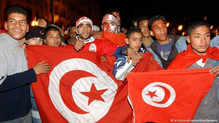 Tunesische Fußballfans