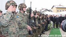 Soldaten Bosnien Herzegowina Hubschrauber Armeehubschrauber