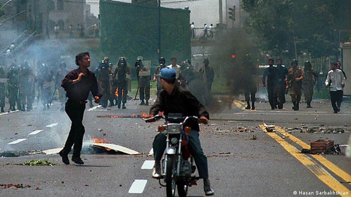 Bildergalerie Studenten Bewegung Iran von 1999 bis 2009