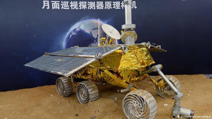 China Ein Modell der Mond-Rover Yutu (picture-alliance/dpa)