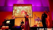 Eda Zari, albanische Sängerin, JAZZ, Konzert in Philharmonie Essen, 29.11.2013 Copyright: DW/M. Kelmendi