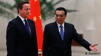 David Cameron in Peking