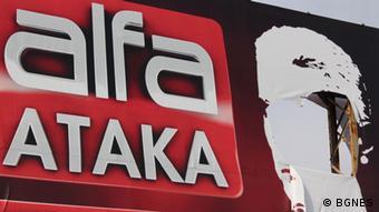 Bulgarien ALFA TV-Sender von Ataka