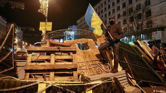 Kiew Ukraine Protest Regierung 2. Dezember