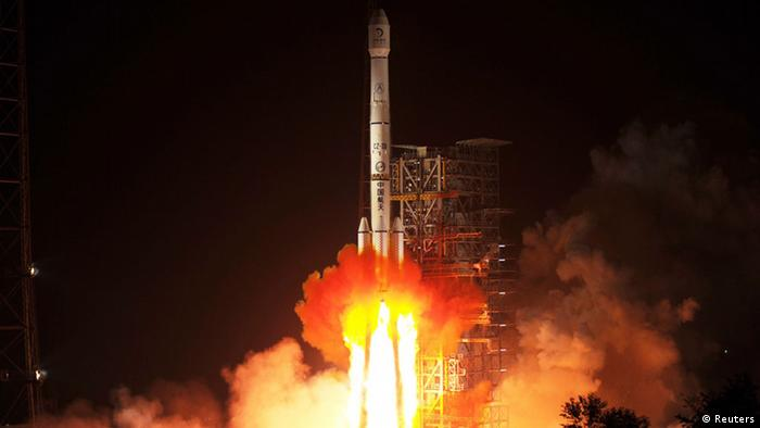 The launch rocket starts on 2 December. Photo: Reuters