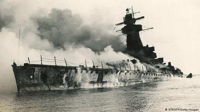 Entfernungsmesser Schiff : Als die u2033admiral graf speeu2033 sich selbst versenkte geschichte dw