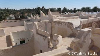 An overhead look at Ghadames' old town (c) DW/Valerie Stocker