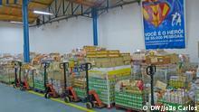 Foto 2 1. Titel: Lebensmittelbank Portugal 2. Bildbeschreibung: Die Lebensmittel gesammelt in eine Sammelaktion in Portugal 3. Fotograf: João Carlos (DW Korrespondent) 4. Wann wurde das Bild gemacht: 26.11.2013 5. Wo wurde das Bild aufgenommen: Lisbon (Portugal) 6. Schlagwörte: Portugal, Lebensmittelbank, PALOP, Sammelaktion