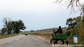 Rural Moldova road