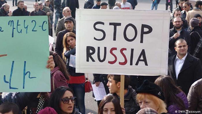 Protestkundgebung in Jerewan