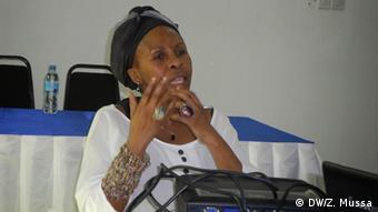 Valeria Msoko, head of TanzaniaMedia Women's Association