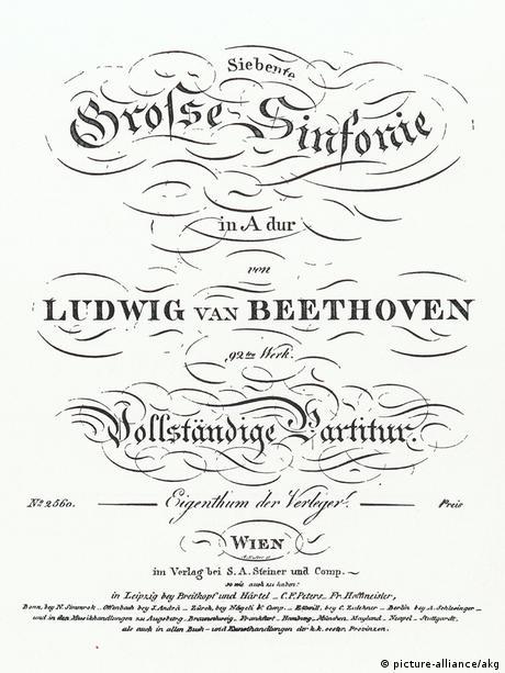 La Septima Sinfonia De Beethoven Cumple 200 Musica Dw 08 12 2013