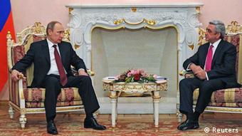 Владимир Путин и Серж Саргсян