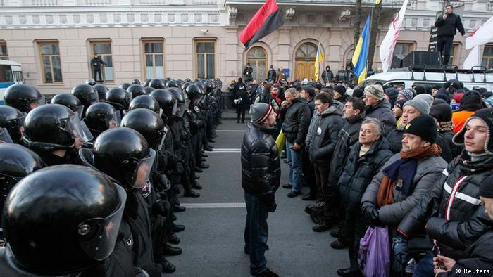 Ukraine Antiregierungsprotest in Kiew 3. Dezember