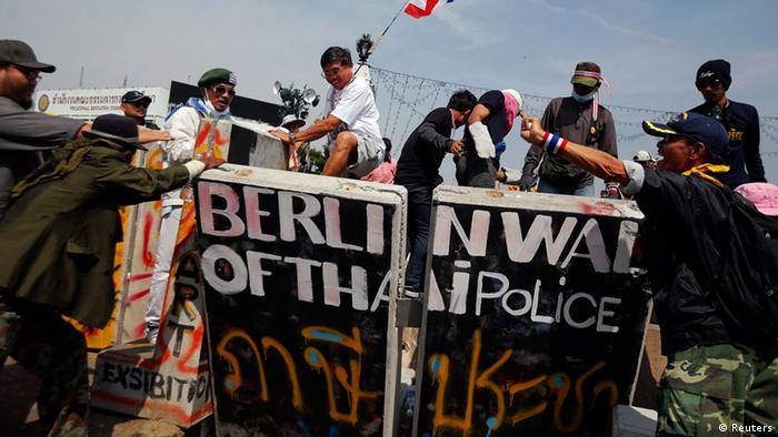 Thailand Proteste 03.12.2013
