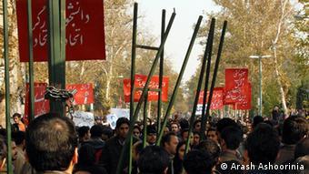 Iranische Studentenproteste im Juli 1999
