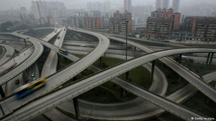 Autobahnknoten China (Getty Images)