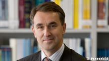 Foto – Petras Austrevicius, Mitglied des Parlaments von Litauen (Vilnius, Litauen) Pressebild