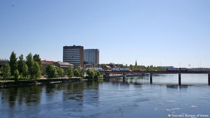 Umeå from the water, Photo: Touristic Bureau of Umeå