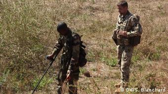 Bundeswehr troops in Mali Photo: DW/Sandrine Blanchard